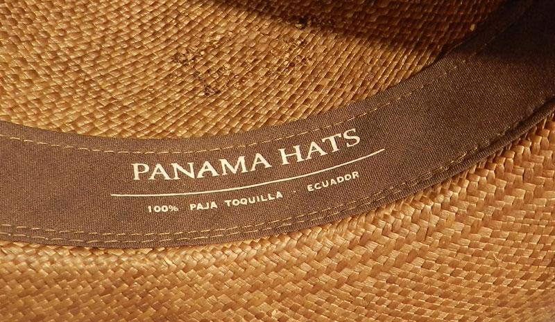 chapeau panama paja toquilla - etnia.fr