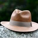 Chapeau panama classique Marron