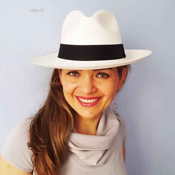 coupe classique grand Prix service durable chapeau panama fédora unisex, authentique, etnia.fr